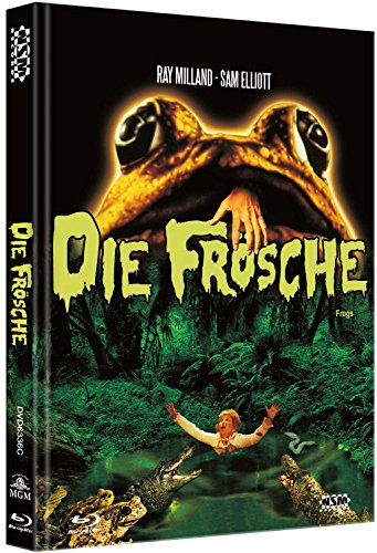 Die Frösche - uncut (Blu-Ray+DVD) auf 333 limitiertes Mediabook Cover C [Limited Collector's Edition]