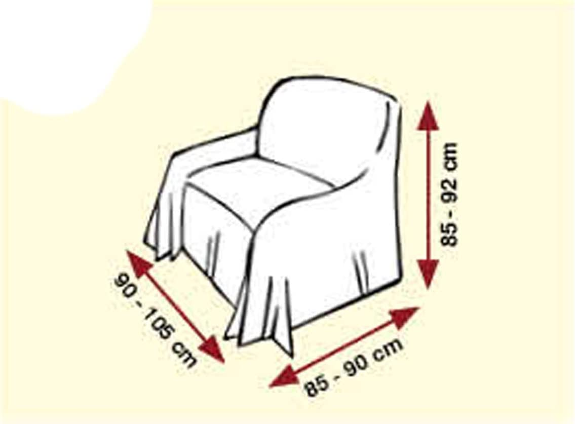 Centesimo Web Shop Canap/é Nouettes en 3/Tailles et 4/Couleurs Tissu Jacquard Rayures ray/é Rayures Due posti Beige