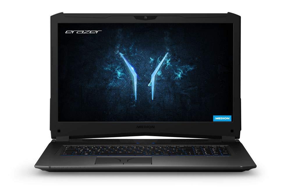 Medion Erazer X 7855 MD 43.9 cm(17.3インチマットフルHDディスプレイ)ゲーミングノートパソコン(Intel Core、 16 GB RAM、1 TBハードドライブ、NVIDIA GeForce GTX、Win 10 Home Edition)ブラックX 7855 512 GB