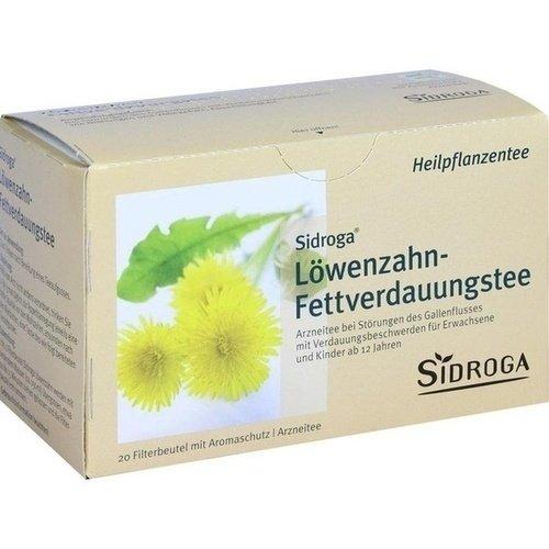 SIDROGA Löwenzahn Tee Filterbeutel 20 St
