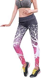 Leggings Sport Women Fitness Athletic Pants Workout Running Gym Stretch Sports High Waist Push Up Tummy Control Training P...