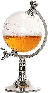 MQQ Whisky karaff, öl flytande glob dispenser 1,5 l vindispenser, heminredning vin droppkork bar köksverktyg kreativ model...