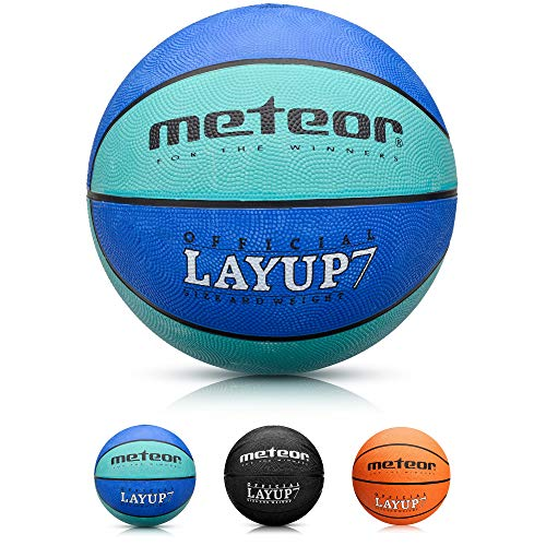 Balón Baloncesto Pelota Basketball Bebe Ball - para los niños y jouvenes y Adultos para Entrenar y Jugar - Tamaño 5 o 6 o 7