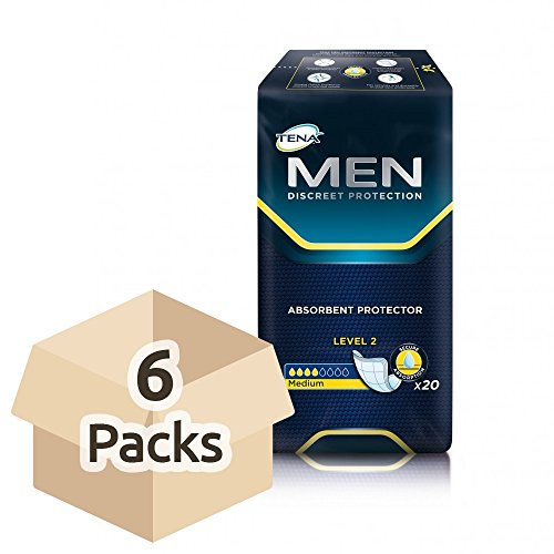 Tena Men Level 2 Super Saver - 6 Packungen mit 20