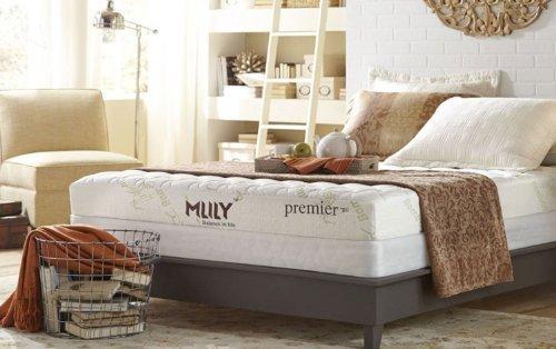 MLILY Premier 7' CertiPur-US Gel Memory Memory Foam Mattress Luxury Air...