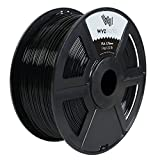 WYZworks PLA 1.75mm [ Black ] Premium Thermoplastic Polylactic Acid 3D Printer Filament - Dimensional Accuracy +/- 0.05mm 1kg / 2.2lb + [ Multiple Color Options Available ]
