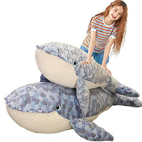 Humpback Whale Plush Hugging Pillow