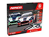 Ninco WRC GT Trident 1:43 Scale Slot Circuit with Bridges and Loops 8 m Cars with Lights 91016
