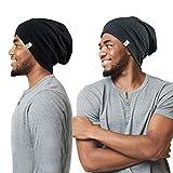 Winitas Satin Lined Sleep Cap for Men with Curly Hair Dreadlocks