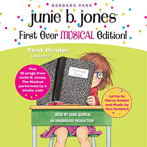 Junie B. Jones First Ever MUSICAL Edition! audiobook cover art