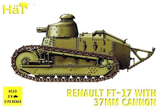 Unbekannt HäT 8113 - Renault FT 17 Panzer mit 37 mm Kanone