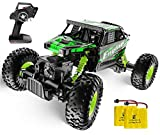 mayceyee Off-Road Remote Control Car RC Cars Trucks Vehicle 2.4Ghz 4WD Powerful 1: 18 Racing Climbing Cars Radio Electric Rock Crawler Buggy Hobby Toy for Kids Gift (Green)