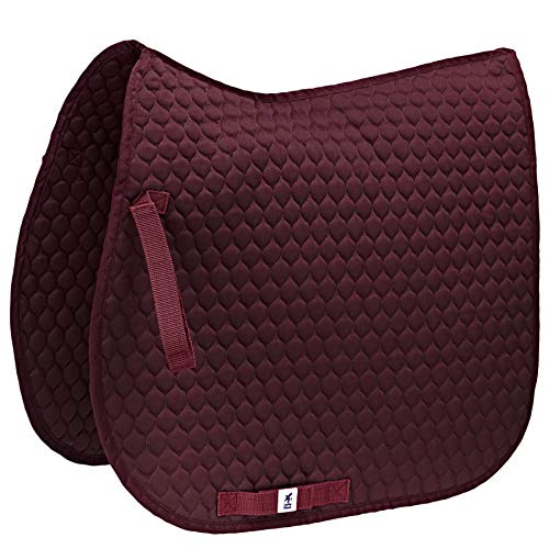 Derby House Pro High Wither GP - Sottosella pony, colore: prugna