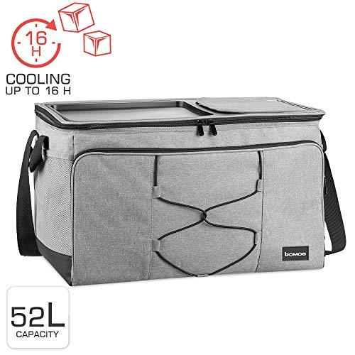 bomoe koeltas opvouwbare IceBreezer KT53 - koelbox voor onderweg - 53x37x32 cm - 52 liter -perfect voor barbecues of festivals