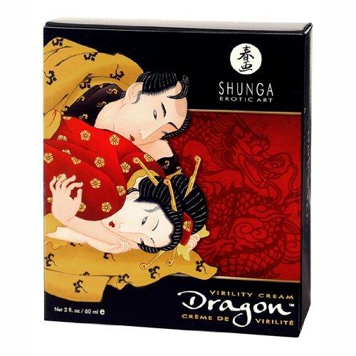 1. Gel potenciador de erección Shunga Dragon Virility Cream