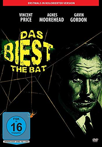 Vincent Price: Das Biest -The Bat (1959) inkl. kolorierter Fassung