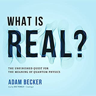 What Is Real? audiobook cover art