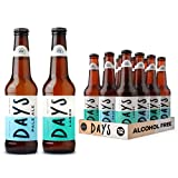 Days – Alcohol-Free Beer Mixed Case – 0.0% Lager & Pale Ale - 12 x
