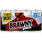Brawny, Paper Towels, 8 Count of 120 2-Ply Sheets Per Roll