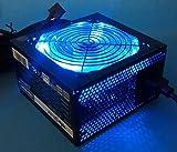 SHARK TECHNOLOGY ATX-1000-LED Silent 1000W 120mm Blue LED Fan Active PFC Dual...
