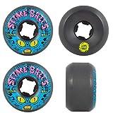 Santa CRUZ - Ruedas para skate (juego de 4) 55 mm Freak Invader Black 99a
