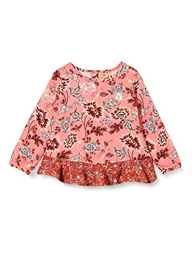 Bellybutton mother nature & me Baby-Mädchen Bluse, Allover Multicolored, 86