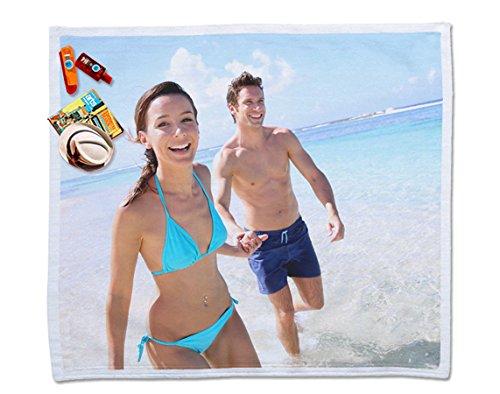 Regalo Original Toalla para Dos de Microfibra para la Playa