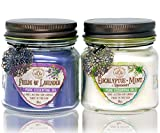 Way Out West Aromatherapy Scented Candles Gift Set - Stress Relief & Energy Jar Candles with 100%...