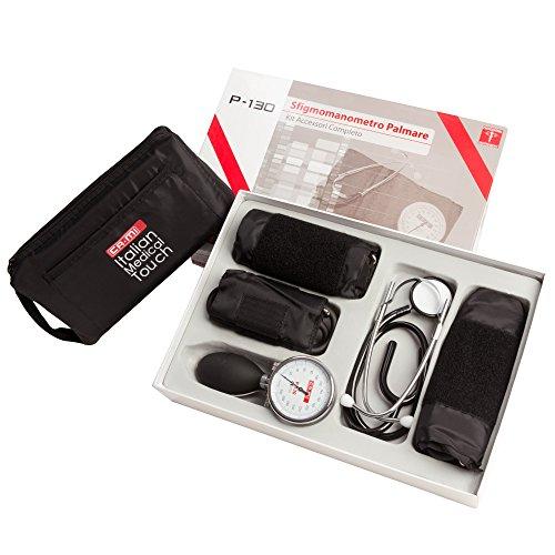 PALM Sphygmomanometer P130 manuelles Blutdruckmessgerät und Stethoskop