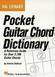 Hal Leonard Pocket Guitar Chord Dictionary (GUITARE)