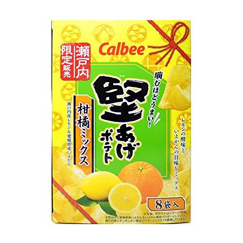 カルビー 堅あげポテト 柑橘ミックス 瀬戸内限定 434