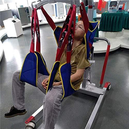 51nSu 5GcSL - WLKQ Arnés Elevación Paciente Cuerpo Completo, Grúa de Paciente, Eslinga De Elevación con Accesorios De Bucle,para Posicionamiento Y Elevación De La Cama,Enfermería, Cuidador 507 Libras
