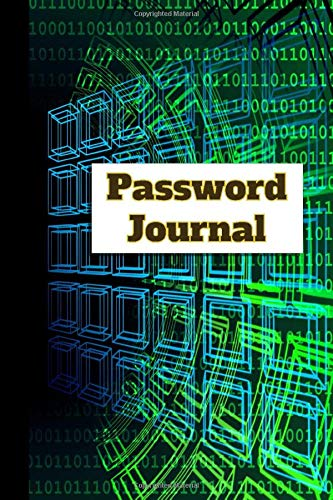 Password Journal: Details of My Websites and Passwords