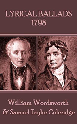 Amazon Com Lyrical Ballads 1798 Ebook Wordsworth William Coleridge Samuel Taylor Kindle Store