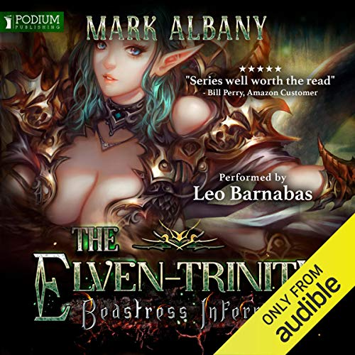 Beastress Inferno audiobook cover art