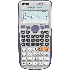 Casio FX-570ES Plus - Calculadora (Escritorio, Batería, Display calculator, Gris, Plata, Botones, Dot-matrix)