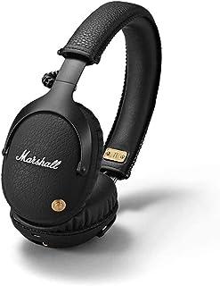 Marshall ワイヤレスオンイヤーヘッドホン Monitor Bluetooth ブラック 連続再生30時間/通話対応 【国内正規品】