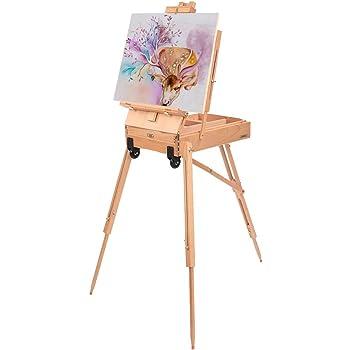 Easel Wooden Artist Art Tripod Folding Portable Painters Christmas Gift Display