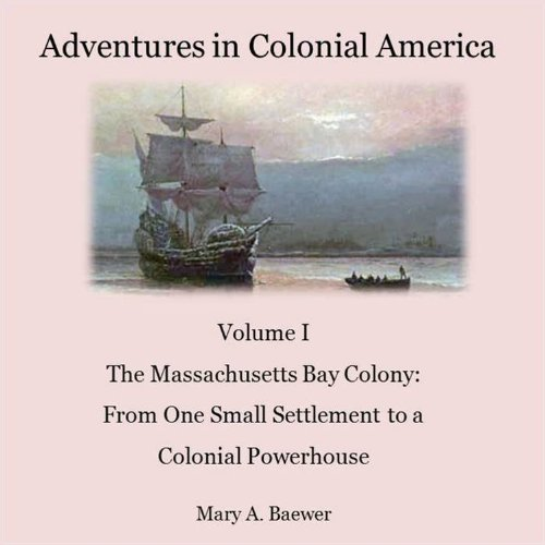 Adventures in Colonial America audiobook cover art