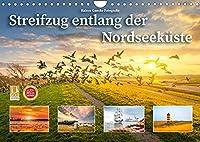 Streifzug entlang der Nordseekueste (Wandkalender 2022 DIN A4 quer): Malerische Bilder vom Meer und von Haefen. (Monatskalender, 14 Seiten )