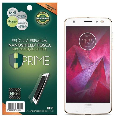 Pelicula HPrime NanoShield Fosca para Motorola Moto Z2 Force, Hprime, Película Protetora de Tela para Celular, Transparente