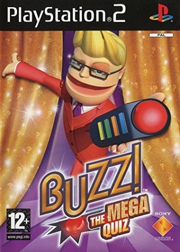 Buzz! The Mega Quiz - Solus (PS2) [Edizione: Regno Unito]