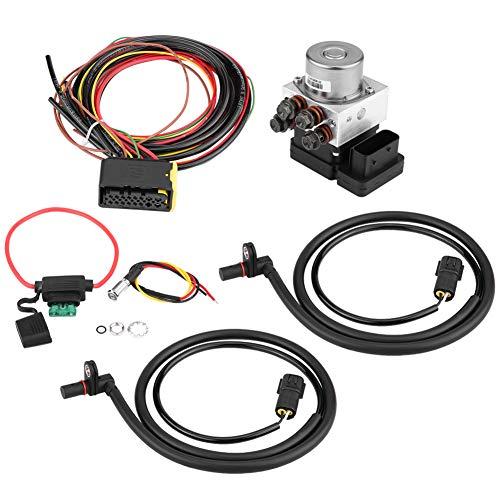 Sistema de Frenos Antibloqueo, Sistema de Frenos Antibloqueo de Motocicleta Kit de Dispositivo Antideslizante ABS
