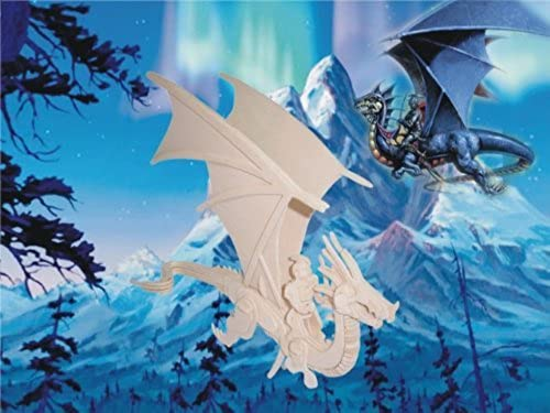 Flying Dragon by Puzzled