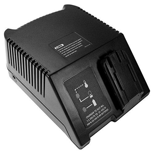 Universal Ni-MH Ni-CD cargador de batería (7,2 V 9,6 V 12 V 14,4 V 18 V 24 V) Estación de carga rápida para AEG/Milwaukee MC-160APAC MC-170APAC RCA7224MB PBA7224MB 48590179 48590245 48590255 48590260