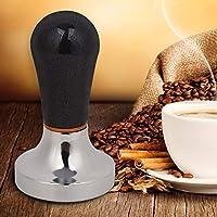 実用的な57mmエスプレッソタンパー、57mmコーヒータンパー、コーヒーメーキング用品コーヒーメーカーコーヒーバリスタツール用アクセサリーコーヒーバーツール(black)