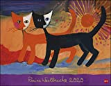 Rosina Wachtmeister Posterkalender. Wandkalender 2020. Monatskalendarium. Spiralbindung. Format 44 x 34 cm - Heye