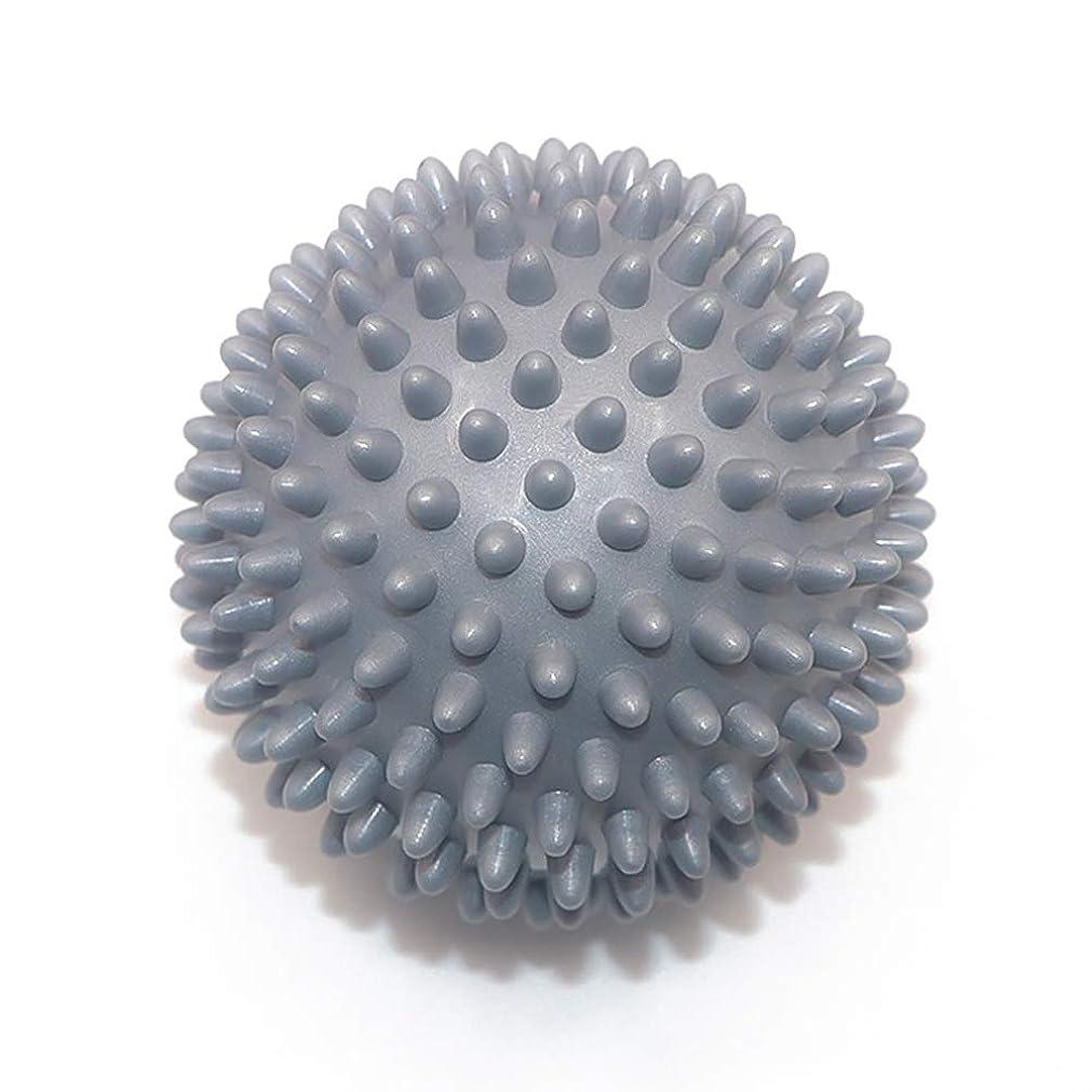省幹全滅させるLiti マッサージボール リハビリ 触覚ボール リフレクションボール 筋膜リリース リハビリ マッサージ用 グレー