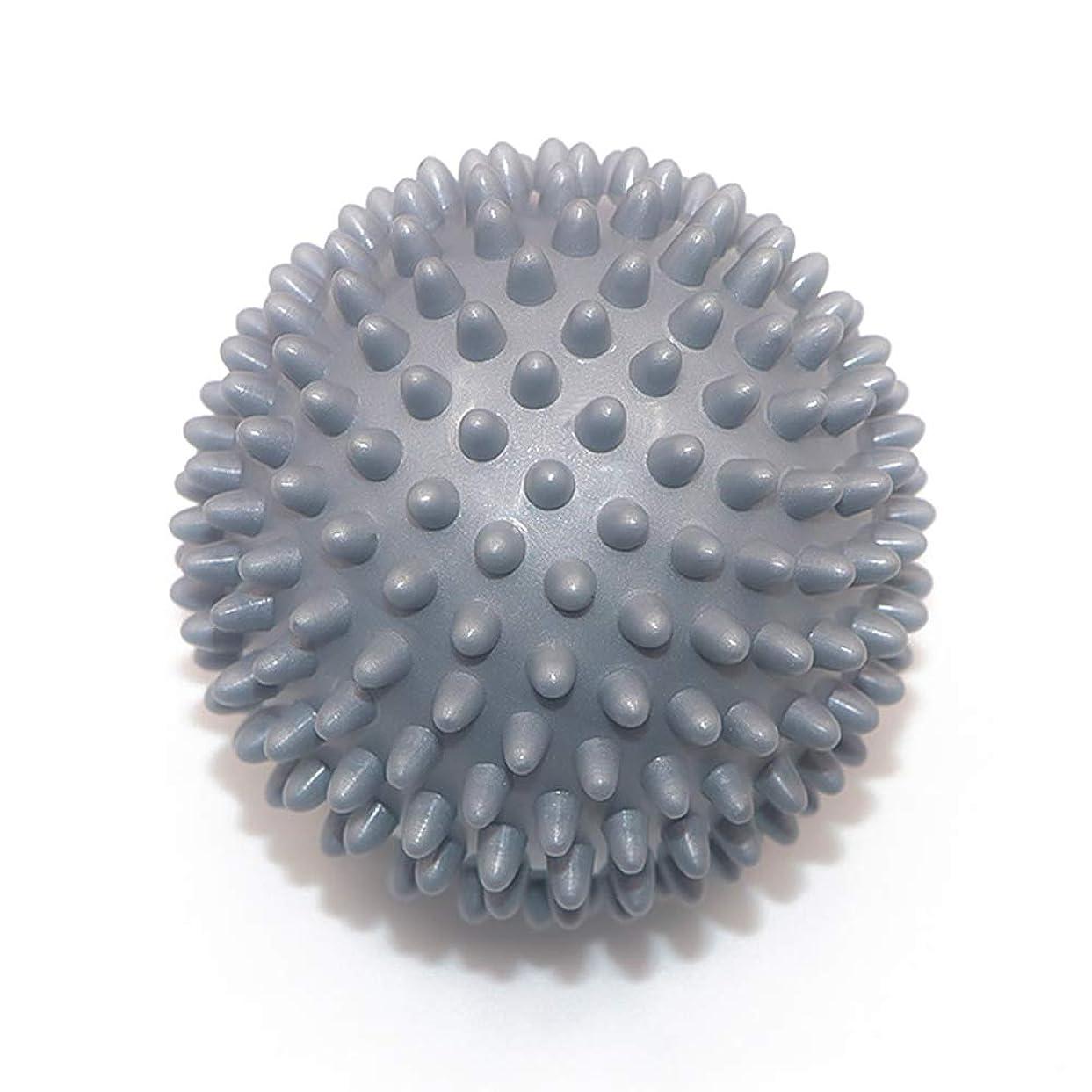中止します音楽温度計Liti マッサージボール リハビリ 触覚ボール リフレクションボール 筋膜リリース リハビリ マッサージ用 グレー