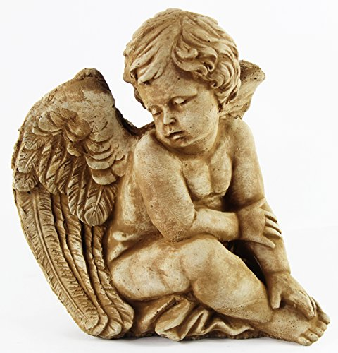 Sitting Angel Statue Religious Home and Garden Statues Concrete Statuary